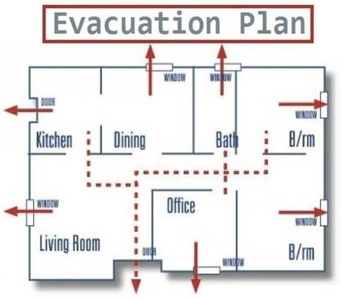 Fire Damage Fire Evacuation Plan, Do You Have One?